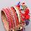 Thumbnail: Red Multiwoven Bracelet