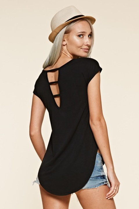 Your Go To Casual Black Top