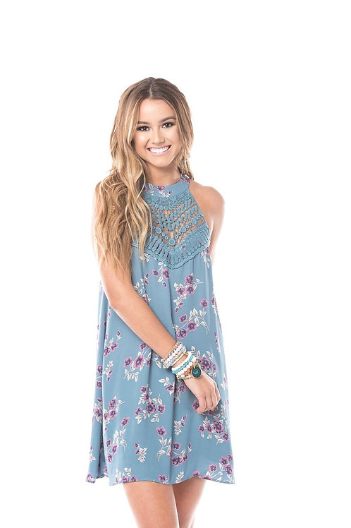 Here Comes The Fun Floral Dress