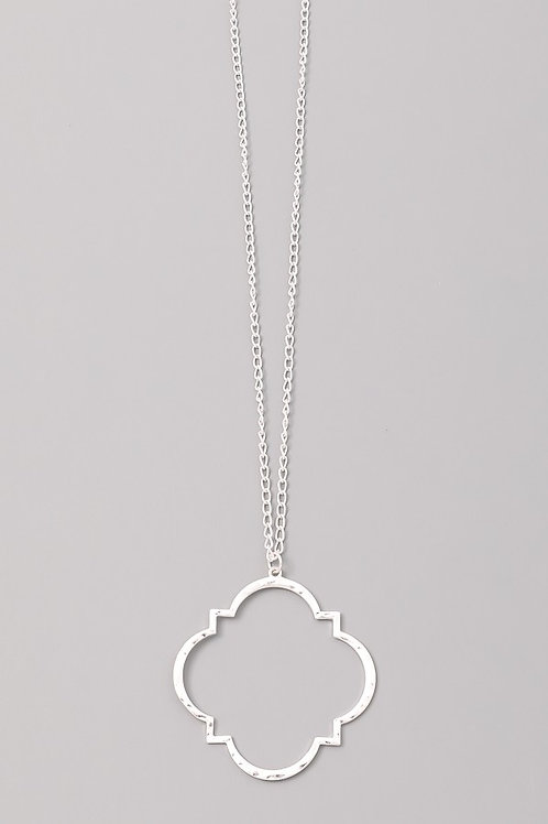 Geo Long Necklace