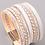 Thumbnail: White Multiwoven Bracelet