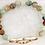 Thumbnail: Stone stretch clover bracelet