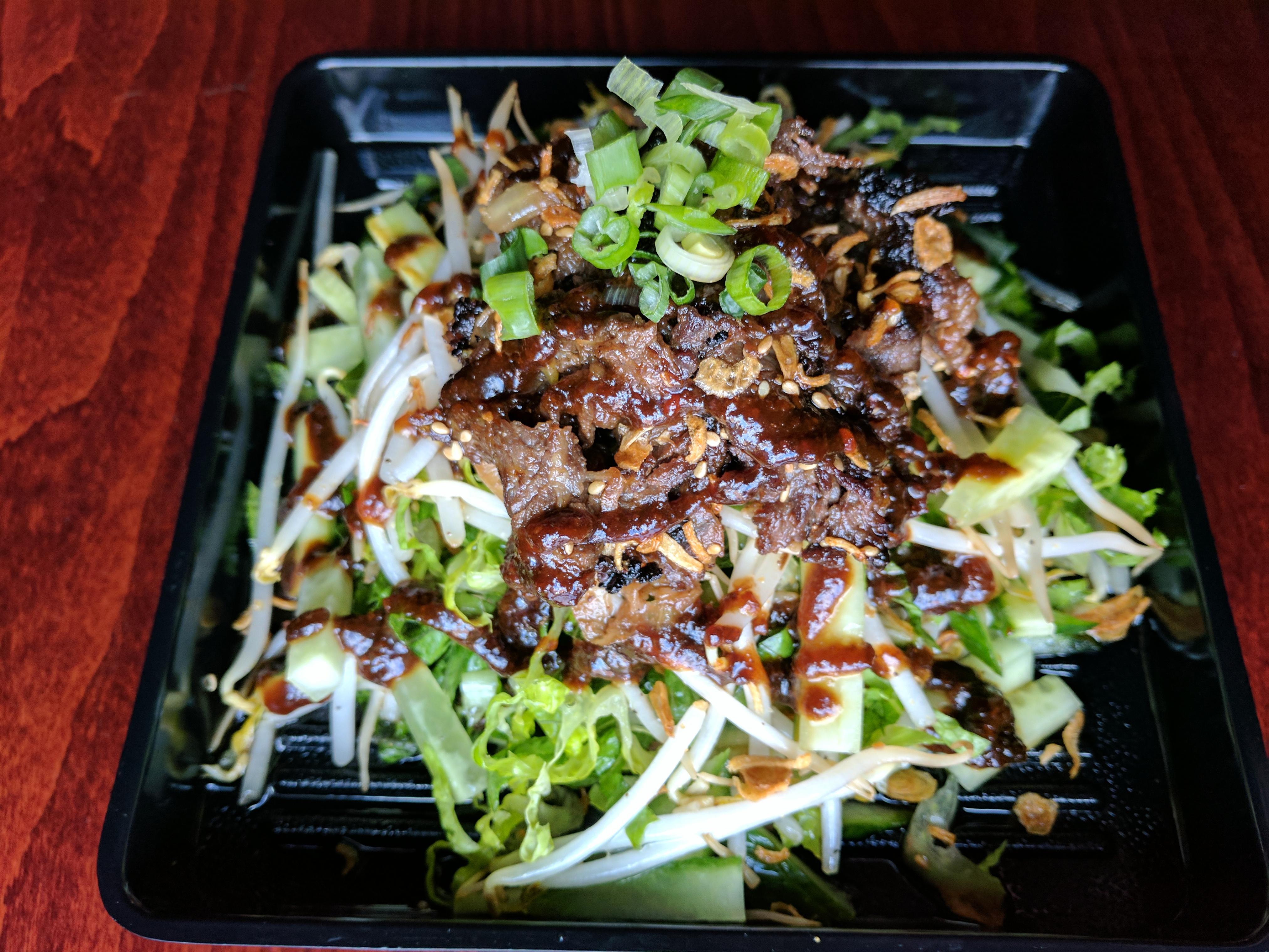 Beef Bulgogi Salad