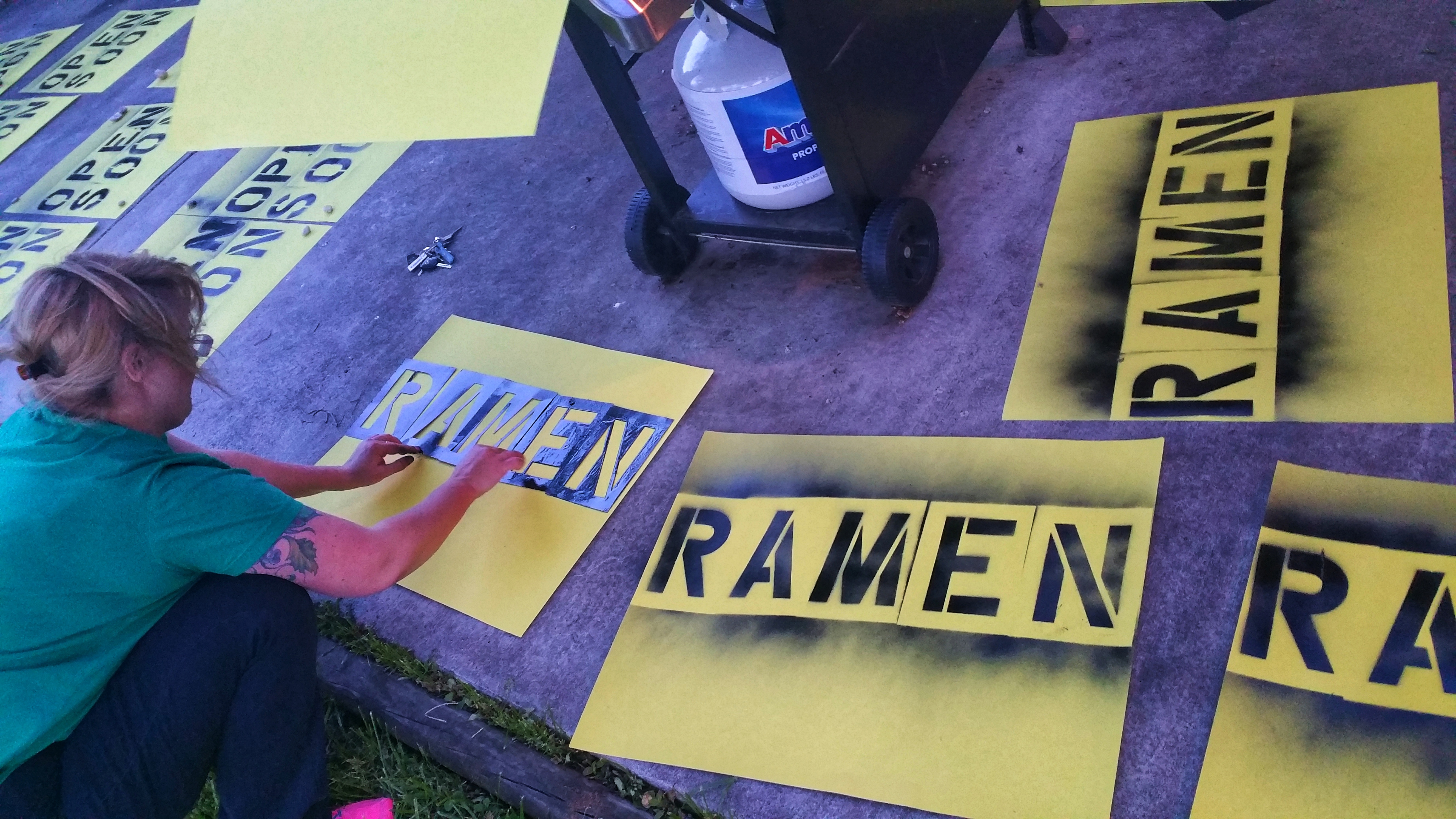 Ramen Spraypaint
