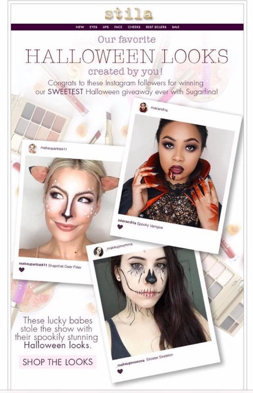 Stila Cosmetics Holida Collection. Hallowen Makeup ideas. Halloween Makeup on Pinterest
