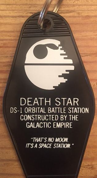 "Star Wars Inspired ""Death Star"" tag"