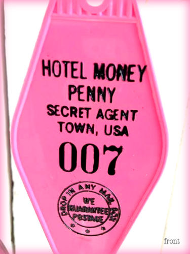 Hotel Money Penny Keytag