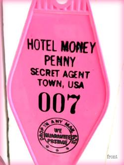 Hotel Money Penny Keytag