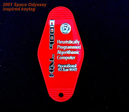 The 2001 SPACE ODYSSEY inspired HAL 9000 keytag