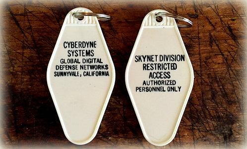 Terminator Inspired Cyberdyne Systems Keytag