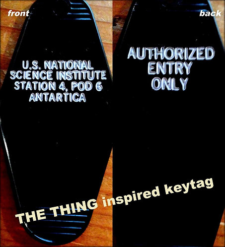 """THE THING, """"US National Science Institute"""" KEYTAG"""