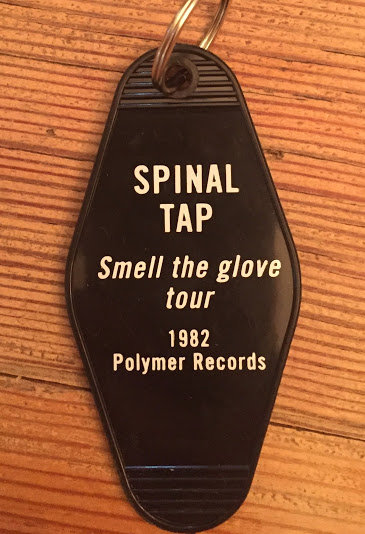 SPINAL TAP inspired keytag
