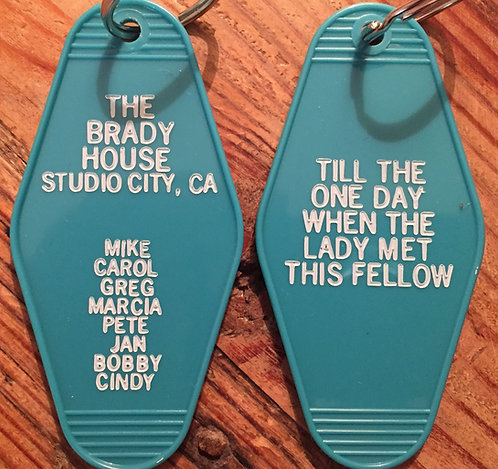 The Brady Bunch Inspired Keytag