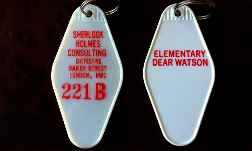 Sherlock Holmes Consulting Detective Keytag