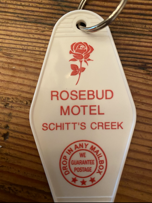 On Sale - Schitt's Creek Inspires ROSEBUD MOTEL inspired keytag