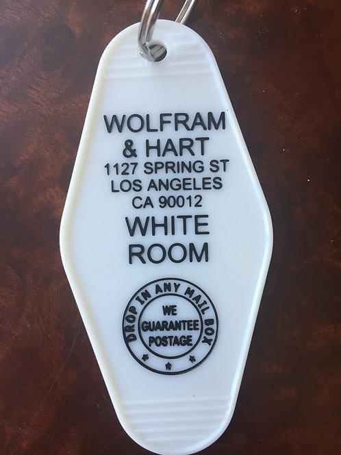 Buffy Vampire Slayer inspired WOLFRAM & HART keyta