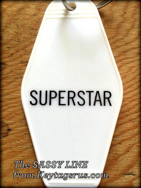 SUPERSTAR keytag