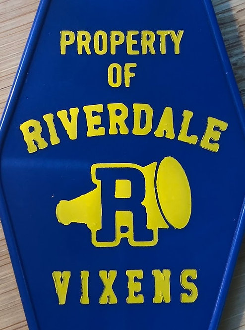 "Riverdale ""Archie"" VIXENS inspired keytag"