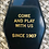 Thumbnail: BLACK / GOLD lettered Overlook Hotel Keytag