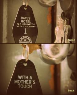 The BATES MOTEL KEY TAG