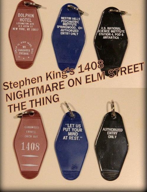 NIGHTMARE ON ELM STREET, Stephen King 1408, THING