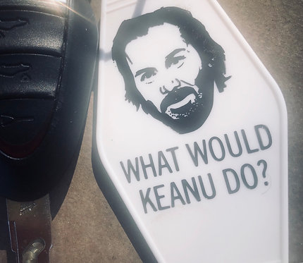 Whar Would Keanu Do? Keytag