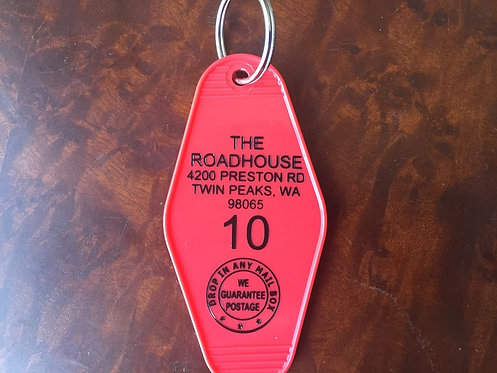 TWIN PEAKS inspired The Road House keytag