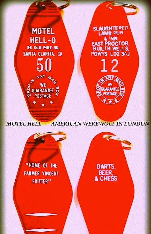 MOTEL HELL & AMERICAN WEREWOLF IN LONDON COMBO