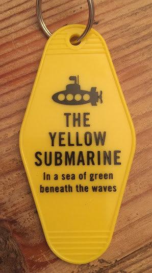 The Beatles inspired YELLOW SUBMARINE inspired key
