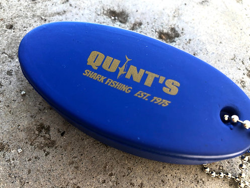 "JAWS Inspired ""Quint's Shark Fishing"" ""floaty"" KEYCHAIN, key fob"
