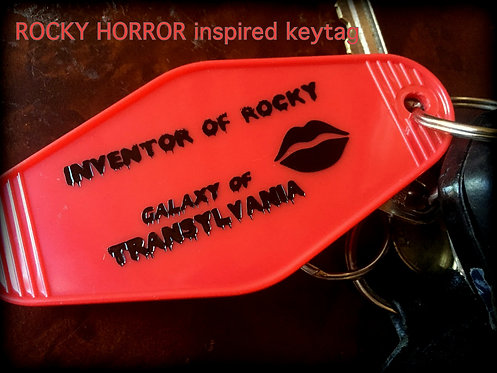 NEW Style! ROCKY HORROR Picture Show inspired Tag