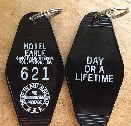 "BARTON FINK inspired ""Hotel Earle"" keytag"