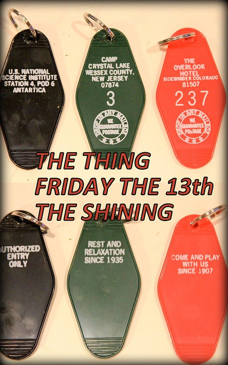 THE THING, FRIDAY the 13th, THE SHINING COMBO