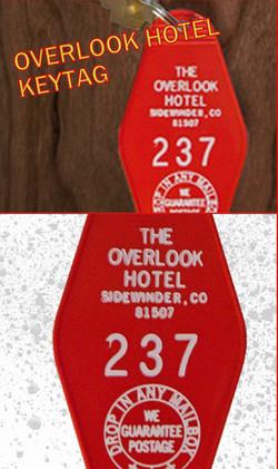 THE OVERLOOK HOTEL Keytag