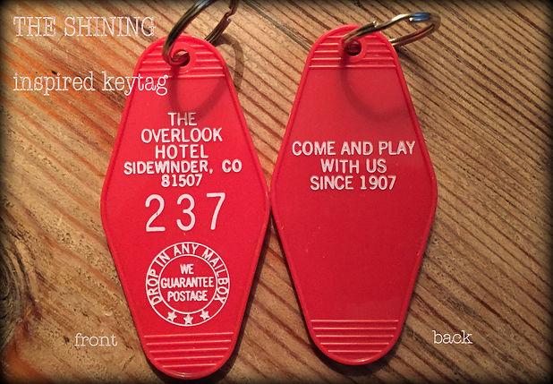 Overlook Hotel Keyfob Keytag