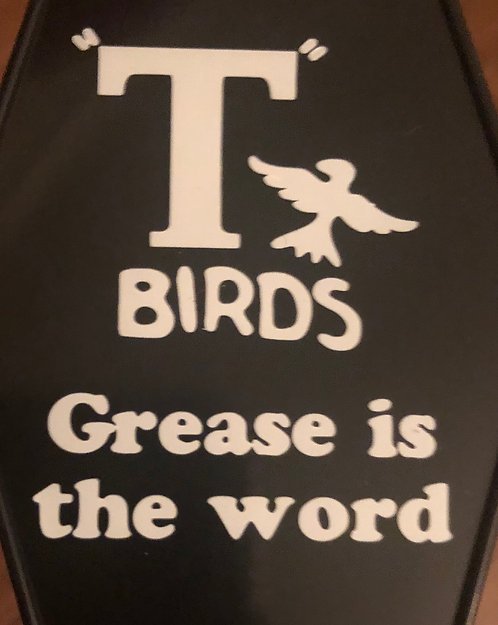 Grease inspired T-bird's Keytag