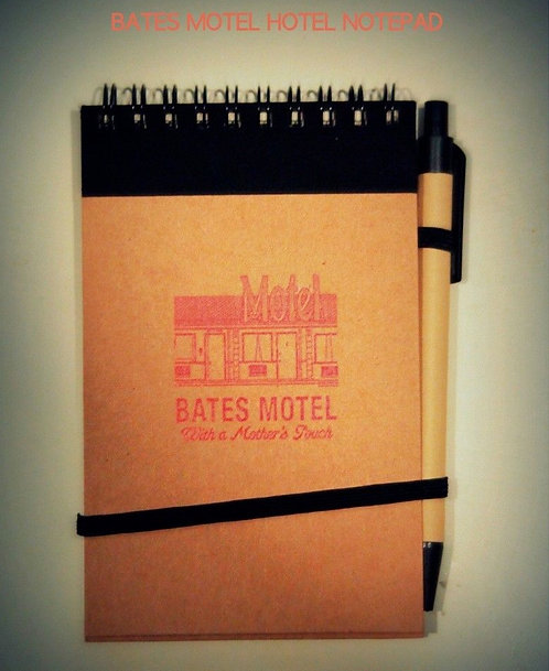 BATES NOTEPAD & SHOT GLASS COMBO (SOLD OUT)
