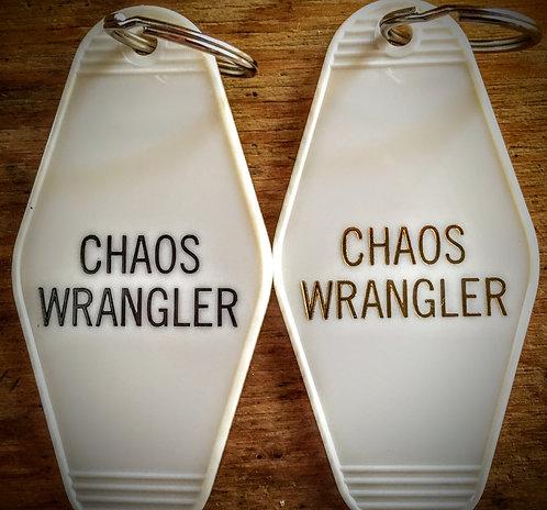 CHAOS WRANGLER keytag