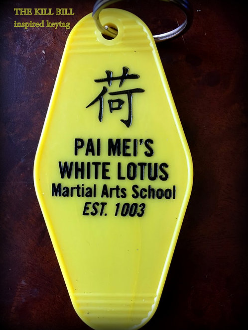 The KILL BILL inspired Pai Mei's White Lotus