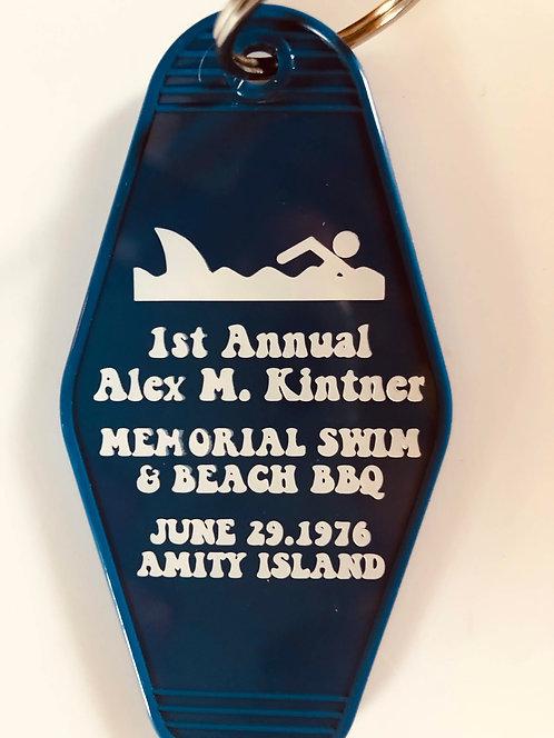 JAWS inspired Alex Kintner Memorial Keytag