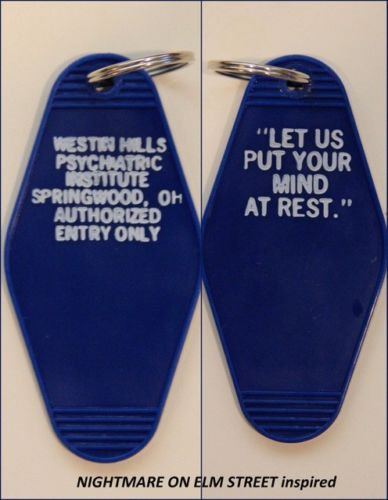 """NIGHTMARE ON ELM STREET"" KEYTAG - ""Westin Hills"""