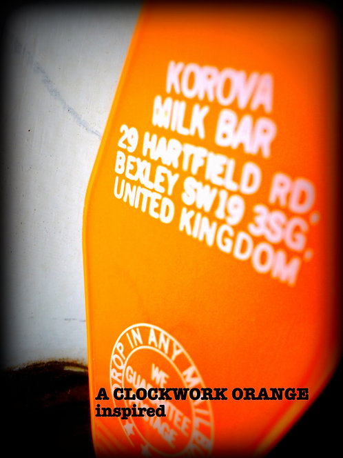 A CLOCKWORK ORANGE  keytag - KOROVA MILK BAR