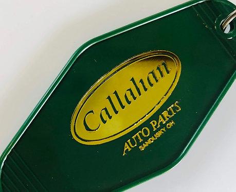 TOMMY BOY inspired Callahan Auto Parts keytag