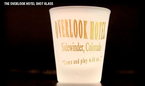 OVERLOOK HOTEL SHOT GLASS - FREE SHIPPING!