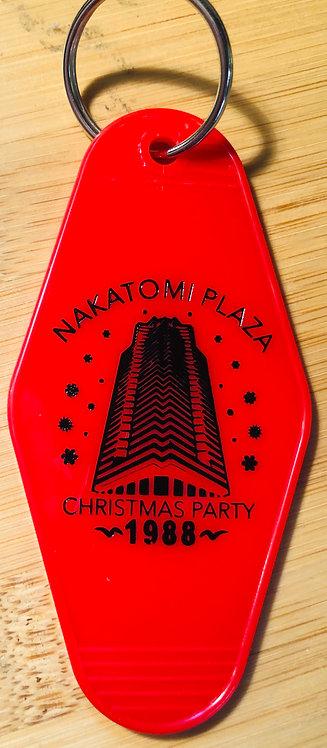 Nakatomi DIE HARD inspired keytag