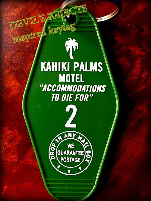 New! DEVIL'S REJECTS inspired Kahiki Palms Motel