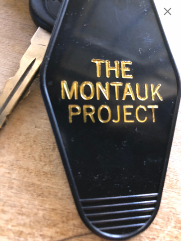 "The new ""Stranger Things"" inspired keytag MONTAUK PROJECT"
