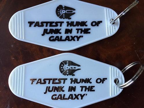"""STAR WARS Inspired Keytag -""""Millennium Falcon"""""""