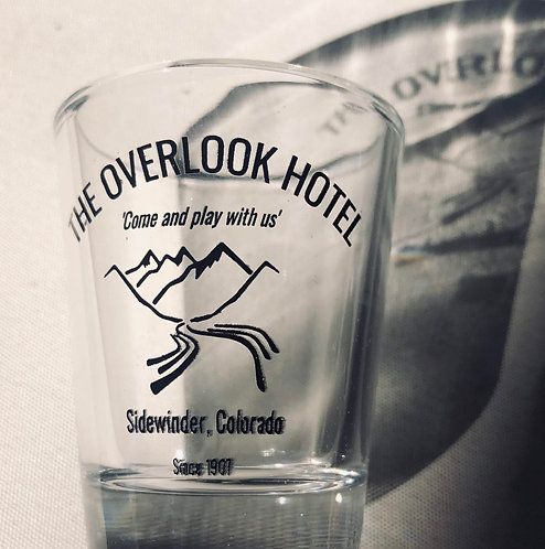 OVERLOOK HOTEL SHOTGLASS
