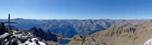 Vue depuis le sommet du Ténibre